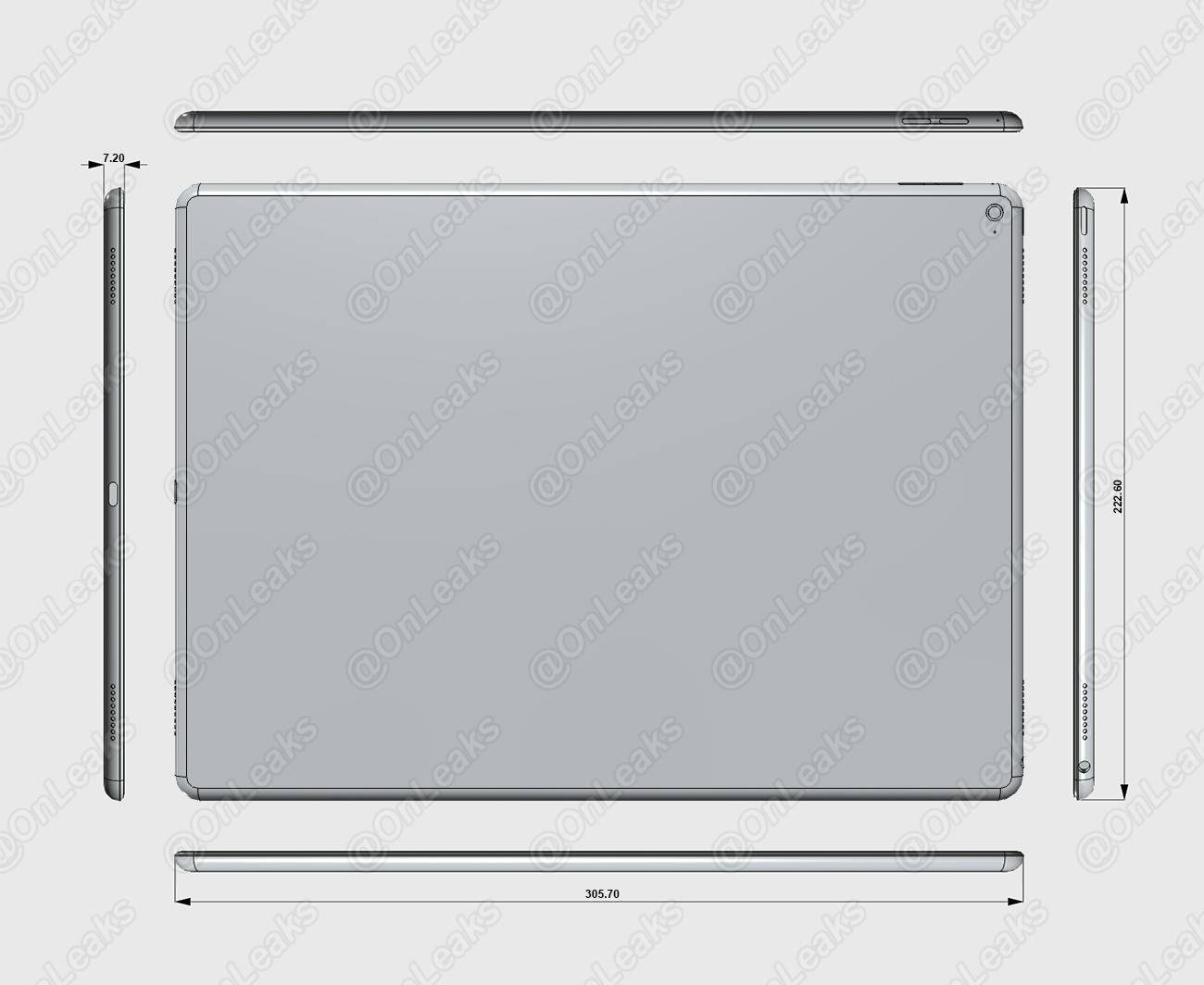 iPad-Pro-dimensions-schéma