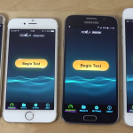 iPhone 6 vs Galaxy S6 : test de rapidité Internet (vidéo)