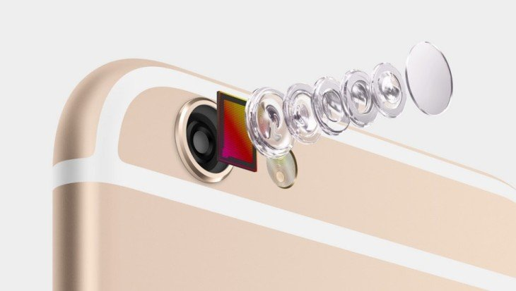 iPhone 6S : appareil photo 12 mégapixels, 4K & flash LED frontal ?