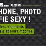 Infographie : smartphone, photo & selfie sexy