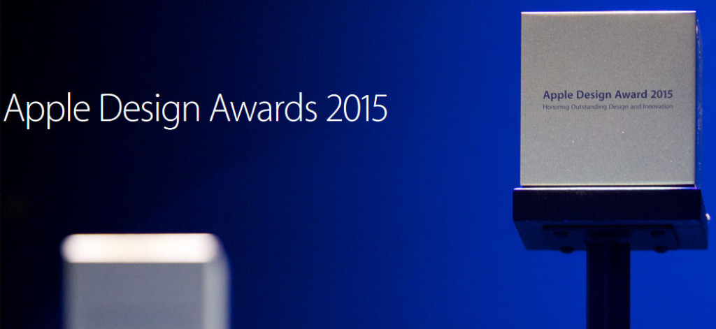 Apple Design Awards 2015 1024x471 - Apple Design Awards 2015 : les lauréats de cette année