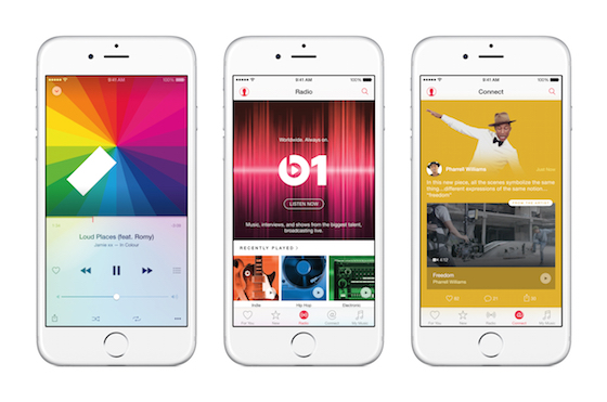 Apple Music, Beats 1, Connect
