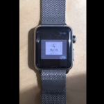 Insolite : une Apple Watch tourne sous Mac OS 7.5.5