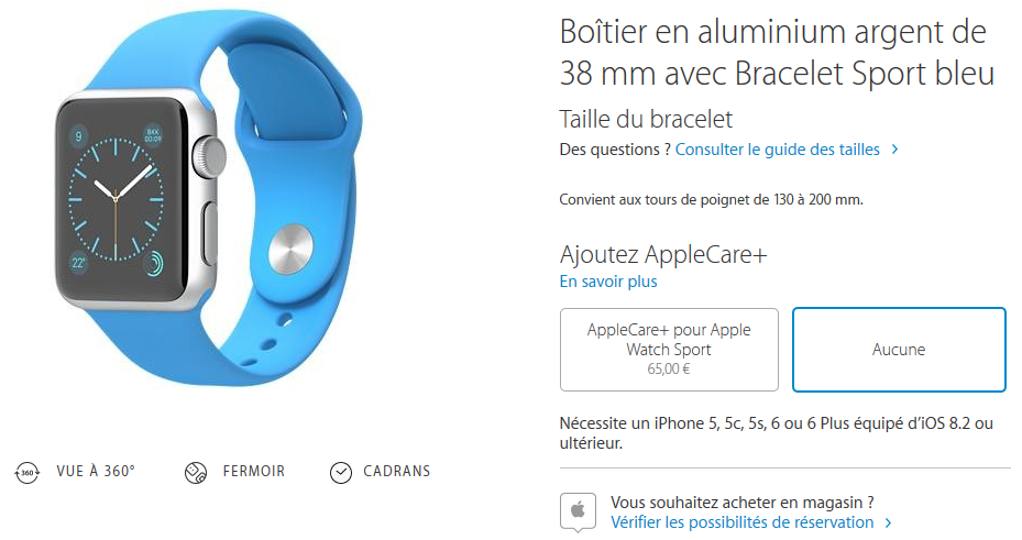 Apple Watch acheter Apple Store - Apple Watch : réservation et retrait en Apple Store disponibles