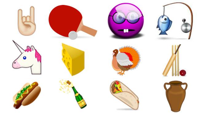 Emojis Unicode 8