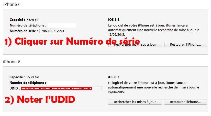 Enregistrer UDID iOS 9 - Télécharger & Installer iOS 11 bêta sans compte développeur