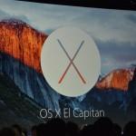 Keynote WWDC 2015 : Apple dévoile OS X El Capitan (OS X 10.11)