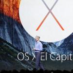 OS X El Capitan bêta 2 est disponible sur Mac