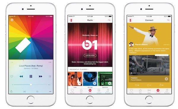 iPhone 6 Apple Music - Abonnement Apple Music : une réduction de 50% pour les étudiants
