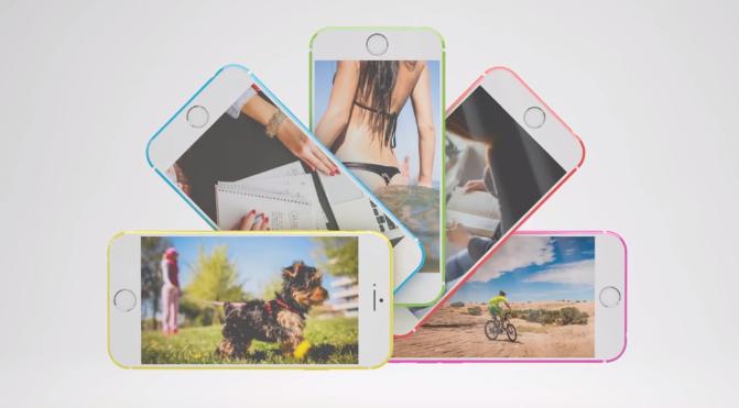 iPhone 6C Concept SET Solution - iPhone 6C : un concept vidéo avec 5 coloris & le Touch ID