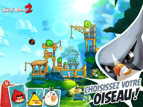 Angry Birds 2 - Angry Birds 2 est disponible sur iPhone, iPad & iPod Touch