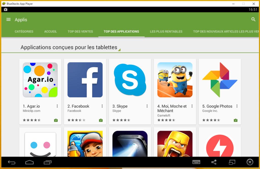 Bluestacks Windows 1024x667 - BlueStacks : un émulateur pour jouer aux jeux Android & iOS sur PC