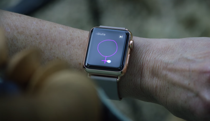 Publicite Apple Watch