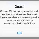 Jailbreak : les comptes Snapchat bloqués en cas de tweaks installés