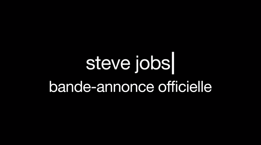 Steve Jobs bande annonce officielle
