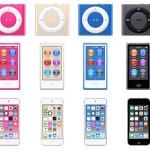 iPod : les nouveaux coloris se dévoilent pour tous les modèles