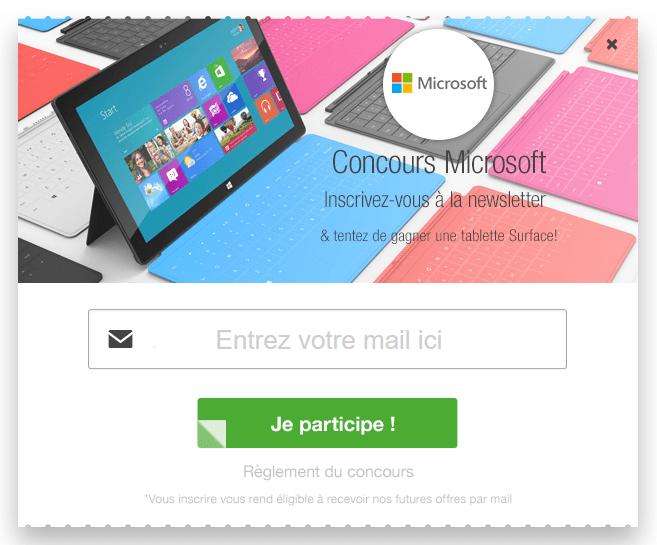Concours Surface 3 Cuponation - Test & concours : la tablette Microsoft Surface 3 à gagner !