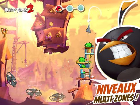 Angry Birds 2 téléchargé 1 million de fois en 12 heures