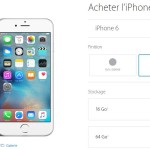 Apple Store : retrait de l'iPhone 5C, des iPhone 5S/6 or et 128 Go