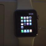 Insolite : iOS 4 installé sur une Apple Watch