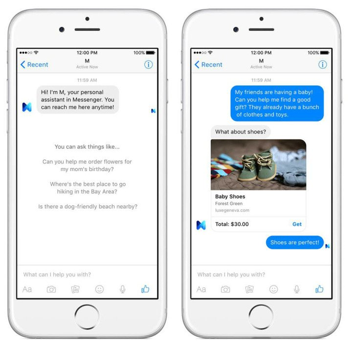 Facebook M : le futur assistant vocal intégré à Messenger