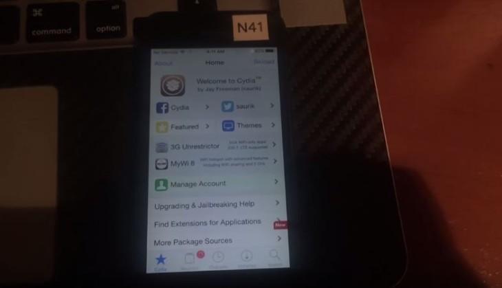 Jailbreak iOS 9 : réussi par iH8sn0w sur un iPhone 5 (vidéo)