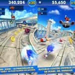 Sonic Dash : un runner gratuit totalement addictif sur iOS