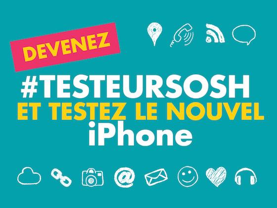 Sosh propose de tester gratuitement l'iPhone 6S