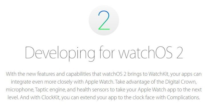 Apple Watch : watchOS 2 Golden Master (GM) est disponible