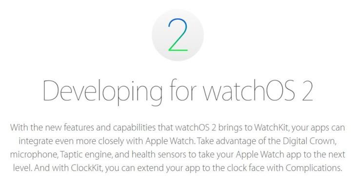 Apple Watch : watchOS 2 Golden Master (GM) est disponible