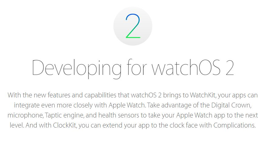 WatchOS 2 - Apple Watch : watchOS 2 Golden Master (GM) est disponible