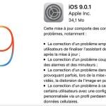 iOS 9.0.1 corrige le souci de blocage après installation d'iOS 9