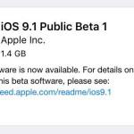 iOS 9.1 : bêta 1 publique disponible