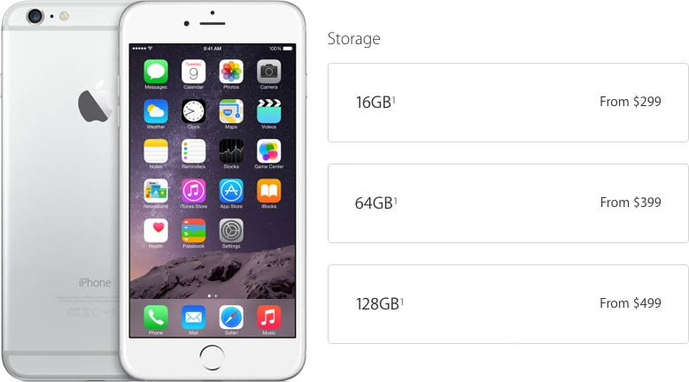 iPhone-6-stockage