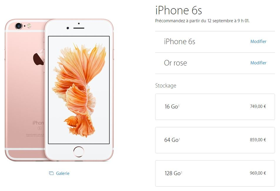 iPhone-6S-Prix