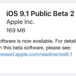 iOS 9.1 : bêta 2 publique disponible