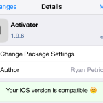 Jailbreak iOS 9 : Activator (Cydia) supporte désormais iOS 9 & 3D Touch