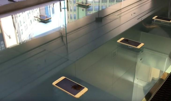 Apple Store : des tables 3D Touch pour promouvoir l'iPhone 6s