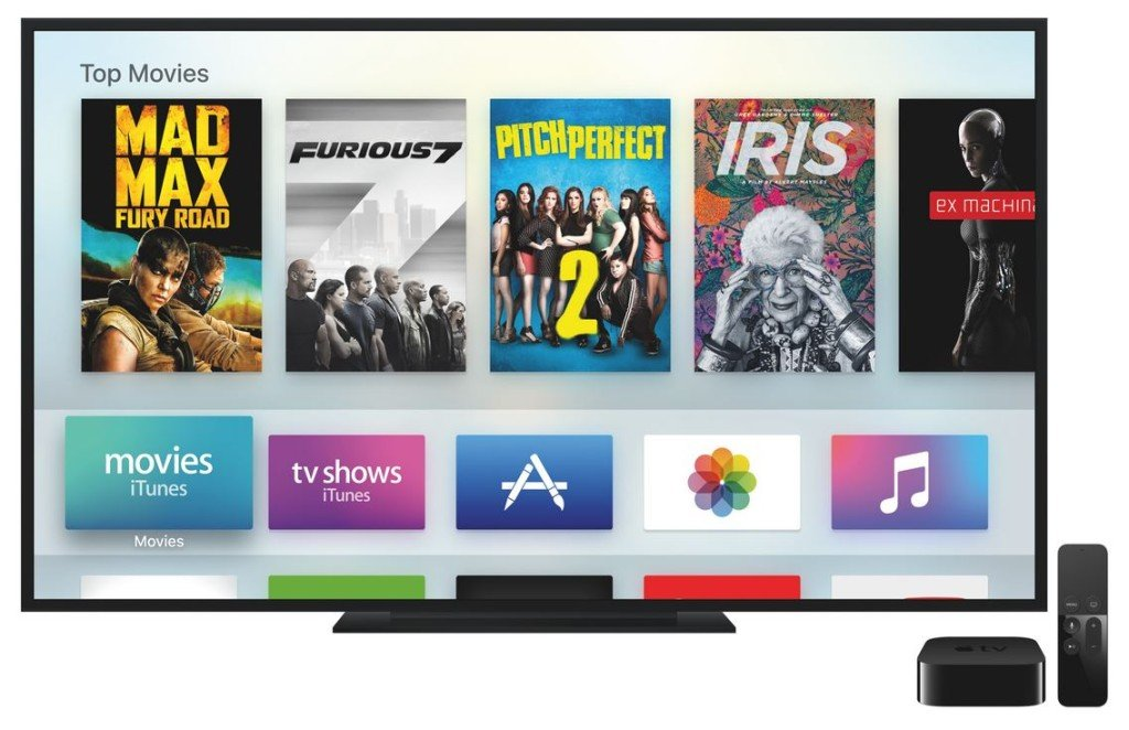 Apple TV 4 TVOS 1024x662 - Apple TV : tvOS version Golden Master (GM) est disponible