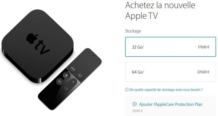Apple propose de précommander la nouvelle Apple TV 2015