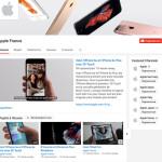 Apple lance des chaînes YouTube en France, Espagne, Italie & Allemagne