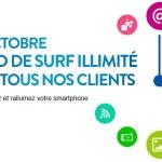 Bouygues Telecom : Internet 4G en illimité ce week-end