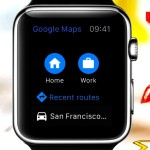 Google Maps enfin disponible sur l'Apple Watch