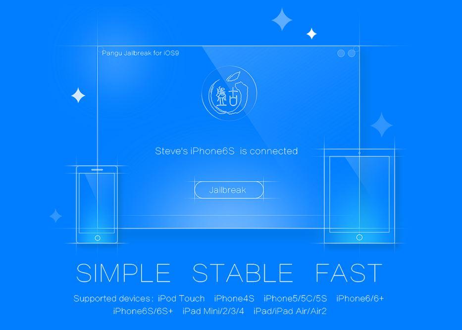 PanGu iOS 9 Jailbreak Tutoriel - Tutoriel : Jailbreak iOS 9 à 9.0.2 iPhone, iPad & iPod Touch (PanGu – Windows)