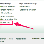 Apple Pay : un lancement au Canada en novembre ?