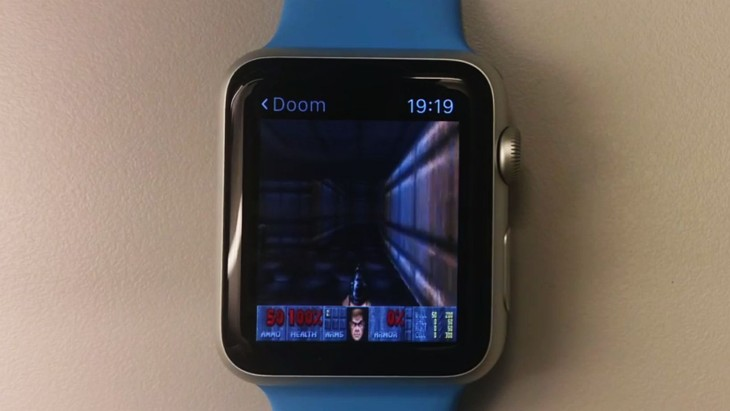 Insolite : le jeu Doom sur l'Apple Watch & l'Apple TV 2015