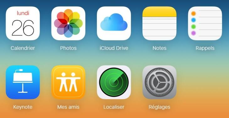 iCloud.com : Apple ajoute l'application Localiser mes amis