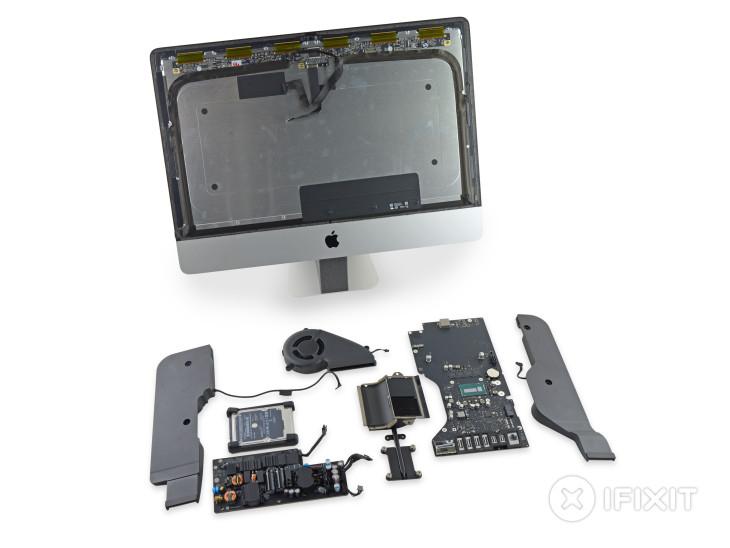iFixit démonte le nouvel iMac 21,5 pouces 4K d'Apple