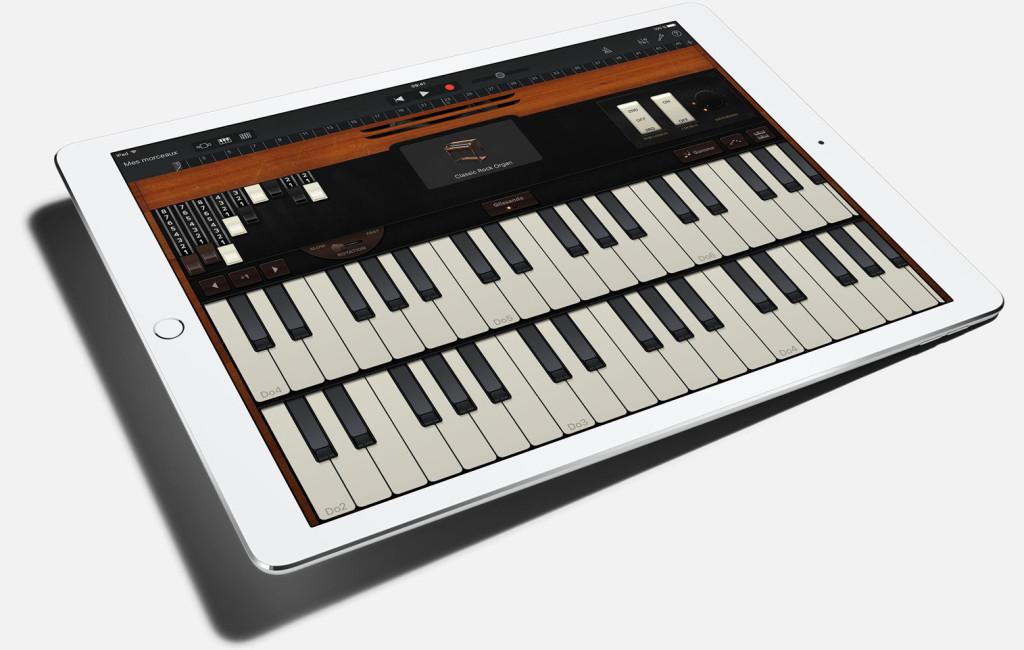 iPad-Pro-GarageBand