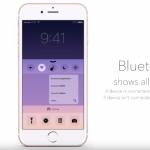 iPhone 6S : concept de 3D Touch dans le Centre de Contrôle
